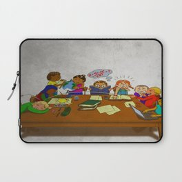 Stack of Books Kids Laptop Sleeve