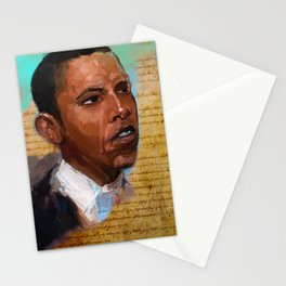Da Prez Stationery Cards