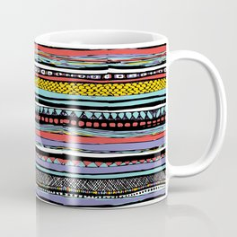 patterns of color, gift for guys, gifts for girls Coffee Mug