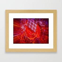 Pixel forge Framed Art Print