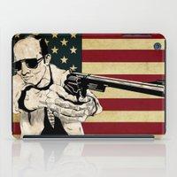 hunter s thompson iPad Cases featuring Hunter S. Thompson by Ignacio Pulido