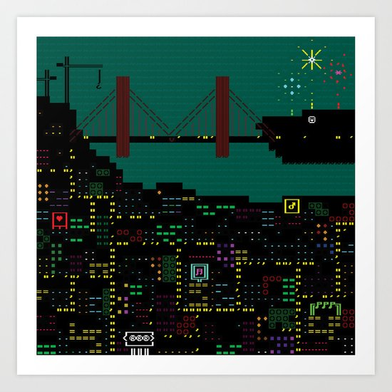 A Coded Message #2 Art Print