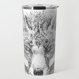 Skeptical Fox Travel Mug