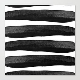 Black Rays Canvas Print