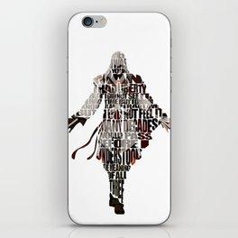 Ezio Auditore da Firenze from Assassin's Creed 2  iPhone Skin