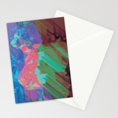 Glitchy 3 Stationery Cards