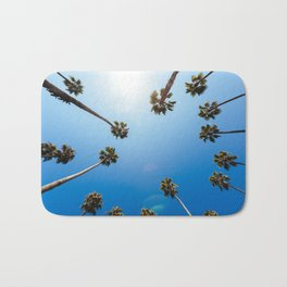 Palm Trees in Los Angeles Bath Mat