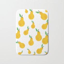 pear yellow Bath Mat