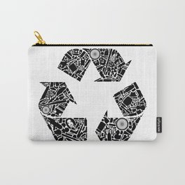 Recycling is Cool Carry-All Pouch