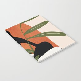Abstract Female Figure 20 Notebook