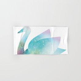 Magical Swan (Flower Petals) Hand & Bath Towel