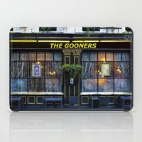 arsenal iPad Cases featuring The Gooners by David Pyatt