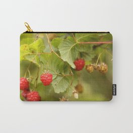 Sweet Raspberry Branches #decor #society6 Carry-All Pouch