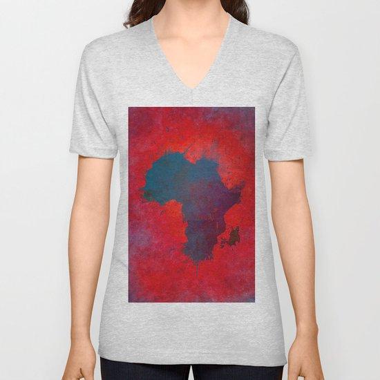 Africa map 3D red blue #africa #map by jbjart