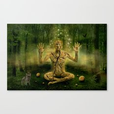Magic forest cure Canvas Print
