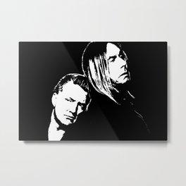 Post Pop Stencil Metal Print