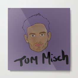 Floating Heads: Tom Misch Metal Print