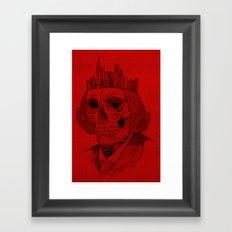 untouchable city Framed Art Print