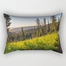 Fairy Lake Sunrise Rectangular Pillow