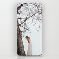 alone iPhone & iPod Skins featuring Alone by Jovana Rikalo