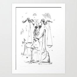 Ex Libra Art Print