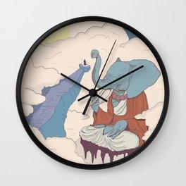 Elephant Buddha Wall Clock