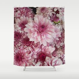 Dead Pink Shower Curtain