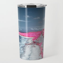 Coastline Beach Travel Mug