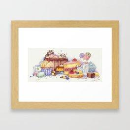 Sweet Thieves Framed Art Print