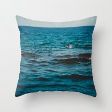 Above the Water and Into the Sky Throw Pillow