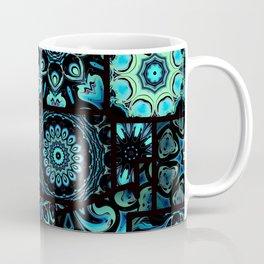 Patchwork in Blues Coffee Mug