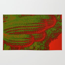 Cacti Abstract I Rug