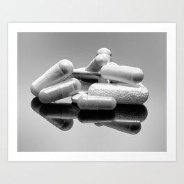 Meds Art Print