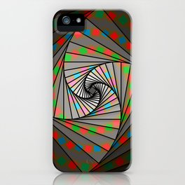 Fibonacci Spin, 2140d iPhone Case