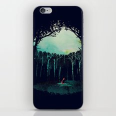 Deep in the forest iPhone Skin