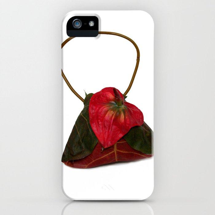Anthurium Handbag iPhone Case