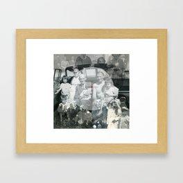 COMPASS// Framed Art Print