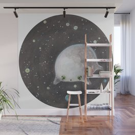 Blob floating in space Wall Mural