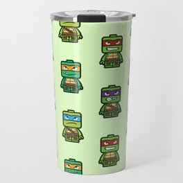 Chibi Ninja Turtles Travel Mug