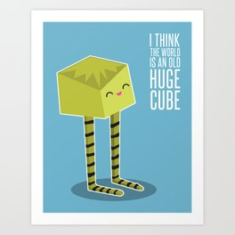 Little Boxy Art Print