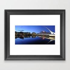 Modern Dublin Framed Art Print
