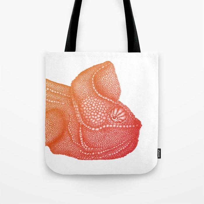 Ombre Chameleon Tote Bag
