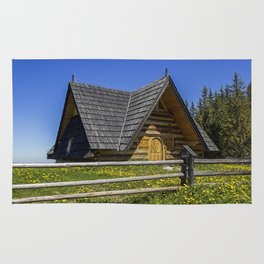 Wooden Home. Rug