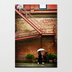 Through A Rainy Lens Canvas Print