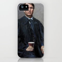 Thirsty Kav iPhone Case