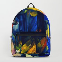 "Franz Marc ""Forest with squirrel"" Backpack"