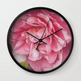 Pink Dream, Rose Photography, Rose Art, Nature Photography, Flower Print, Floral Print, Nature Print Wall Clock