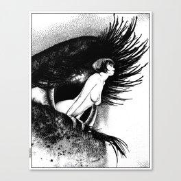 asc 602 - La spectatrice (Valentina at the gallery) Canvas Print