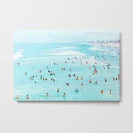 Hot Summer Day #painting #illustration Metal Print