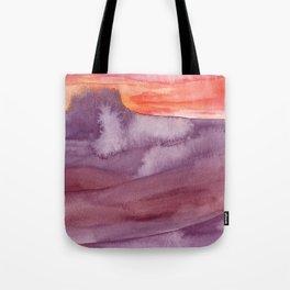 Mar de Lava Tote Bag